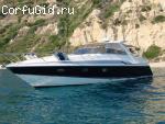 Моторная яхта Sunseeker на Корфу
