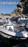 Моторные лодки в аренду с капитаном в Палеокастрице