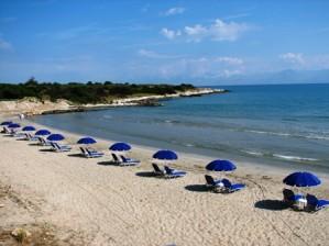Пляж Св.Спиридон