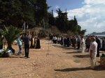 Молебен у памятника Ушакову
