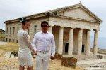 Фотосессия на Корфу после венчания