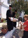 Паломники в монастыре Кассопитра