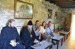 В архондарике монастыря Высокой Богородицы