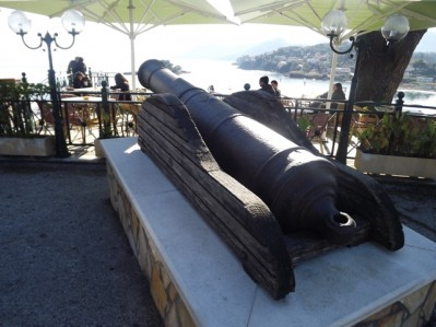 Русская пушка в Канони